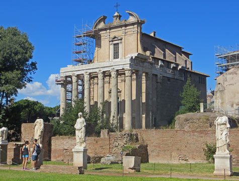 Temple of Antoninus Pius and Faustina