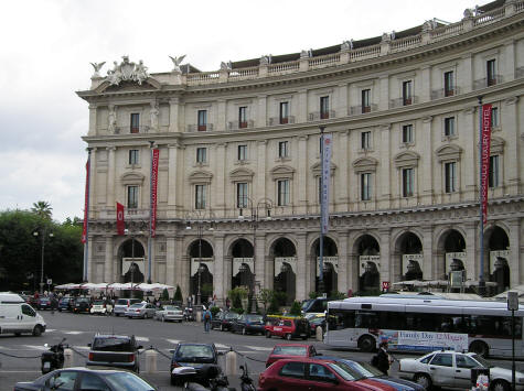 Hotels near Termini Central Train Station in Rome