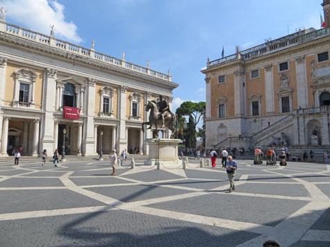 Piazza Del Campidoglio, Capitoline Hill, Rome