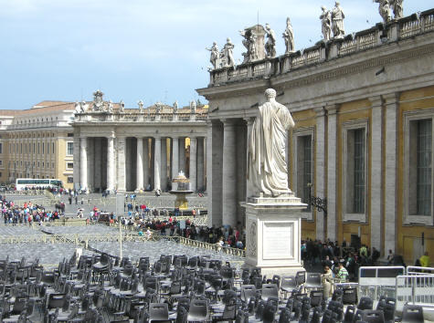 St. Peter's Square - Piazza Pio XII