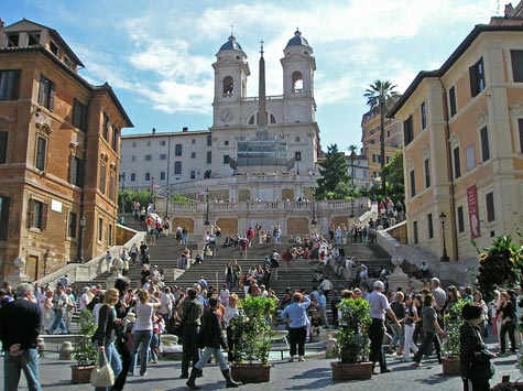 The Spanish Steps - Piazza di Spagna
