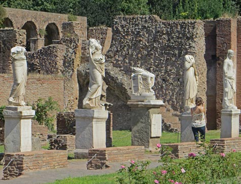 House of the Vestal Virgins, Rome Italy
