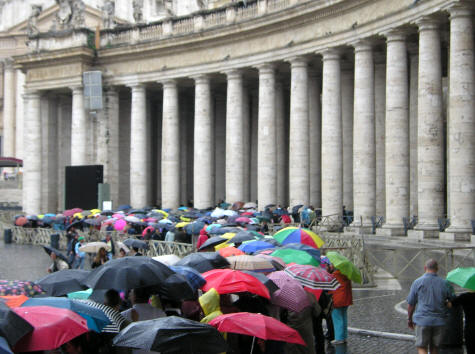Visitors and Pilgrims to the Vatican